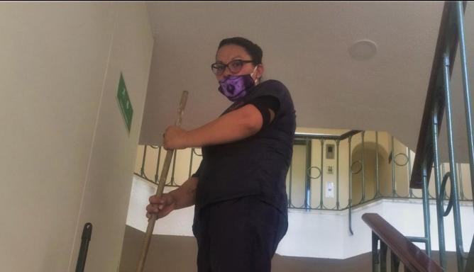 Oficios en cuarentena: la valentía de las trabajadoras de servicios generales