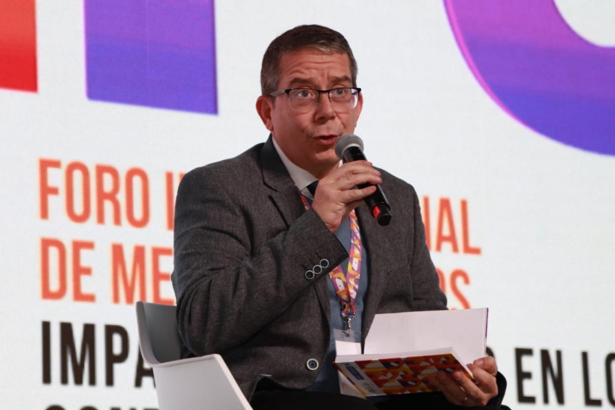 Jenaro Villamil,  presidente del Sistema Público de Radiodifusión FIMPU 2019