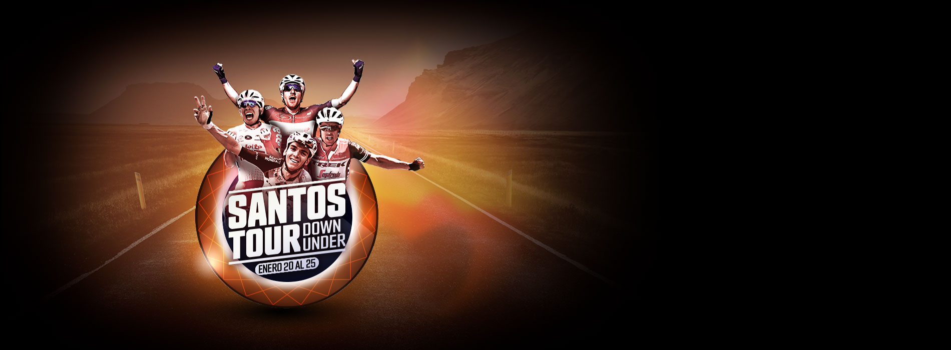 El Santos Tour Down Under 2020 se verá en la pantalla de Señal Colombia.