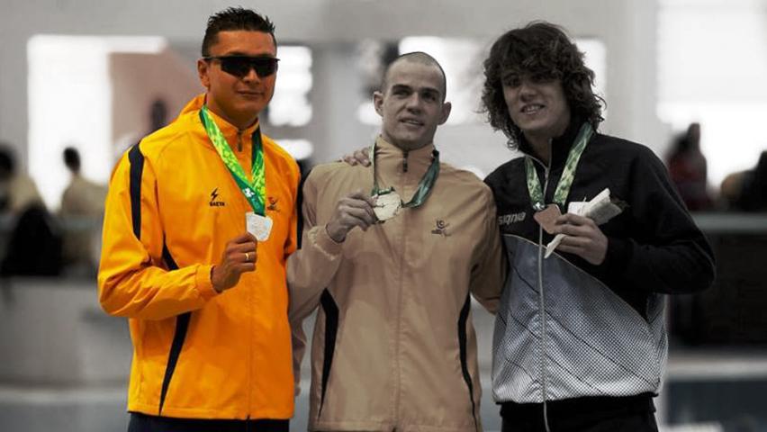 Diego Cuesta, nadador paralímpico / Ejército Nacional de Colombia