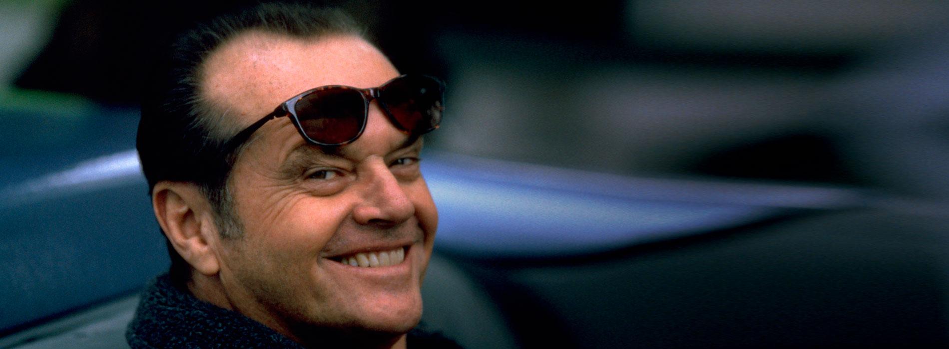 Jack Nicholson en Mejor imposible.