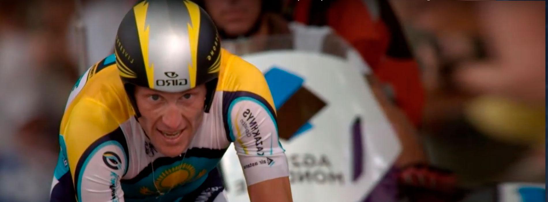 """Lance Armstrong en el documental """"La mentira de Armstrong"""""""