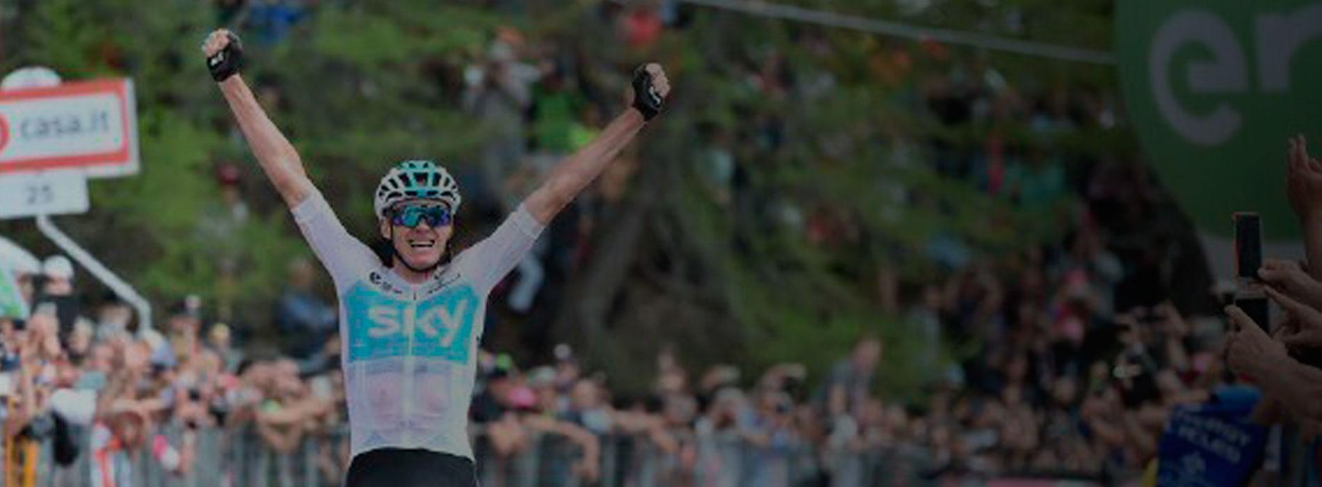 Chris Froome, nuevo líder del Giro de Italia / Giro Oficial