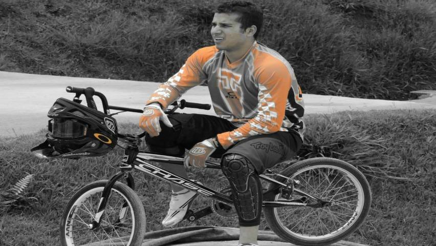 Carlos Ramírez, medallista de bronce en los Juegos Olímpicos de Río 2016 / Liga Antioqueña de BMX