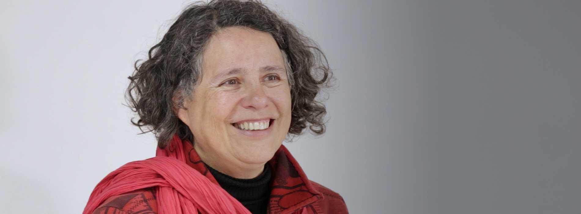 Cándida Ferreira, brasileña radicada en Bogotá.