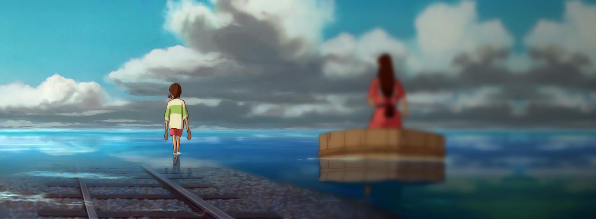 Imagen de la película El viaje de Chihiro