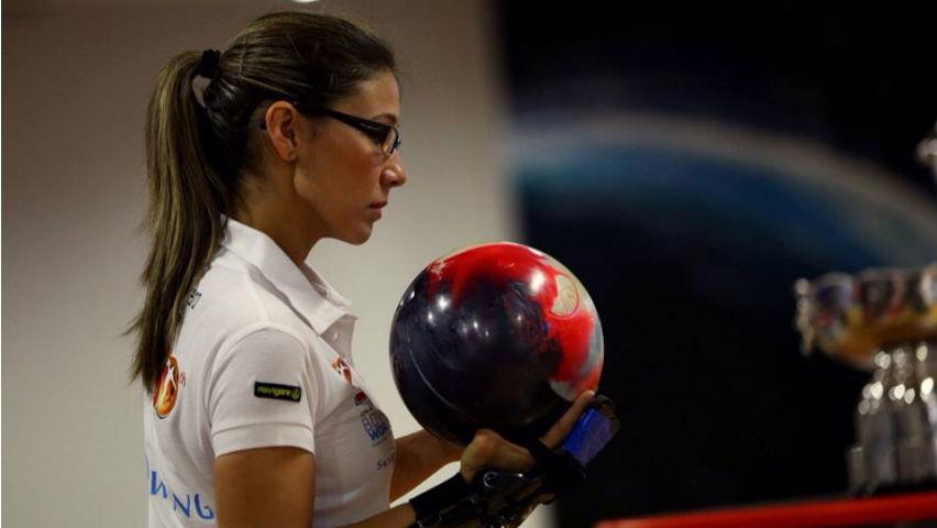 Clara Juliana Guerrero, bolichera colombiana.