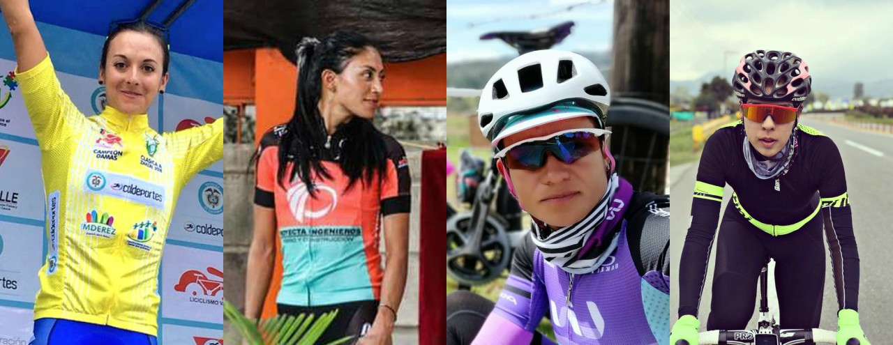 Estas son las 4 colombianas que hacen parte del UCI World Tour