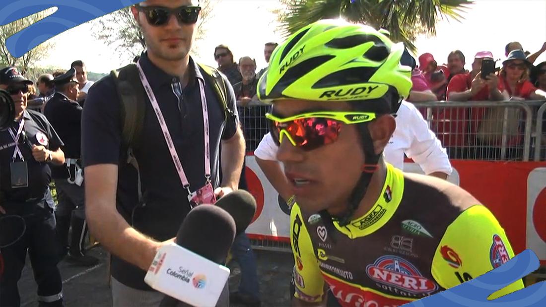 Daniel Martínez ganó su primera carrera con una bicicleta prestada / Archivo