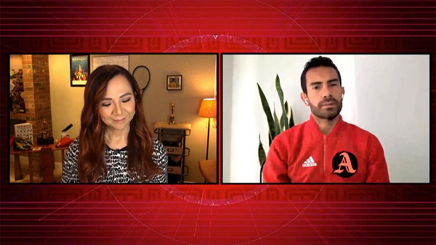 Goga entrevista a Éider Arévalo
