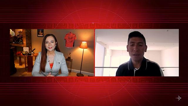 Goga entrevista a Nairo Quintana