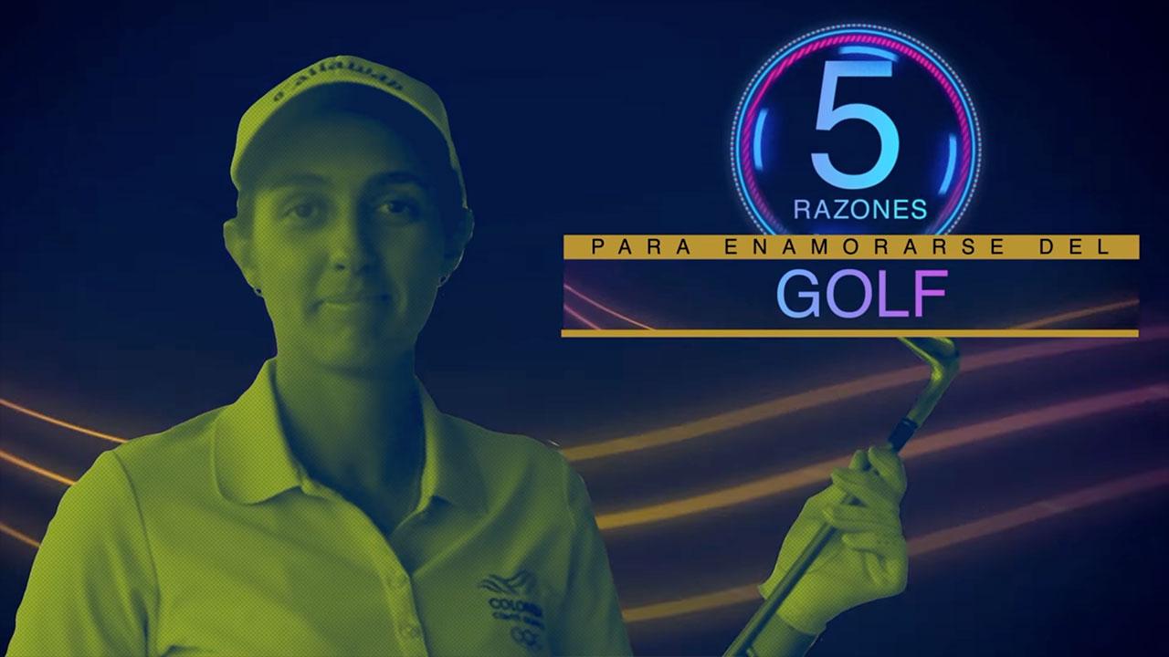 5 razones para enamorarse del golf