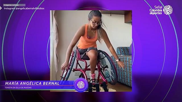 La preparación de María Angélica Bernal