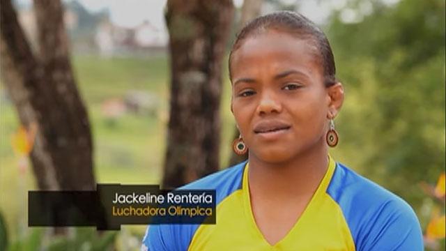 Nuestros deportistas - Jackeline Rentería