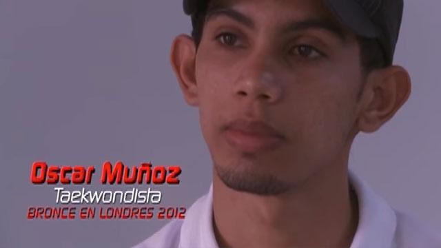 Nuestros deportistas - Óscar Muñoz