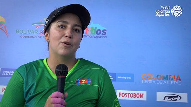 Señal Colombia Deportes entrevista a Sara López