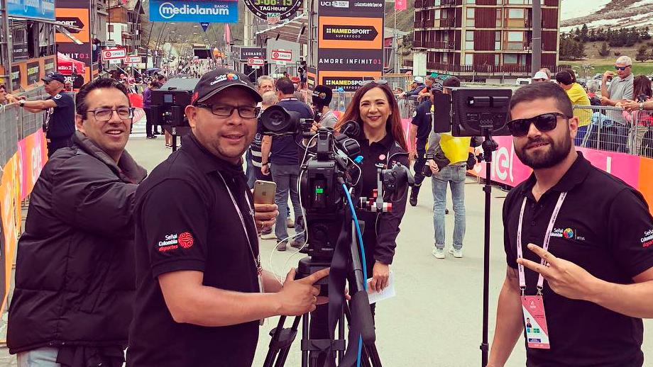 Señal Colombia deportes está nominado a los India Catalina 2019/ Instagram BiciGoga