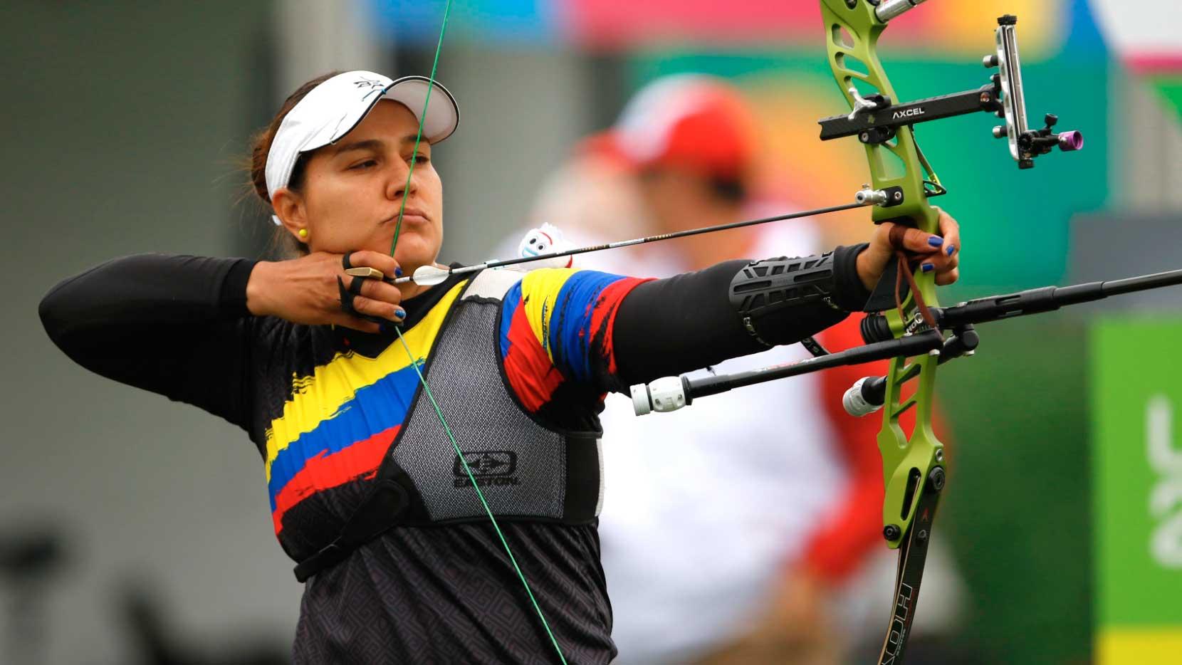 Perfil tiradora Ana María Rendón