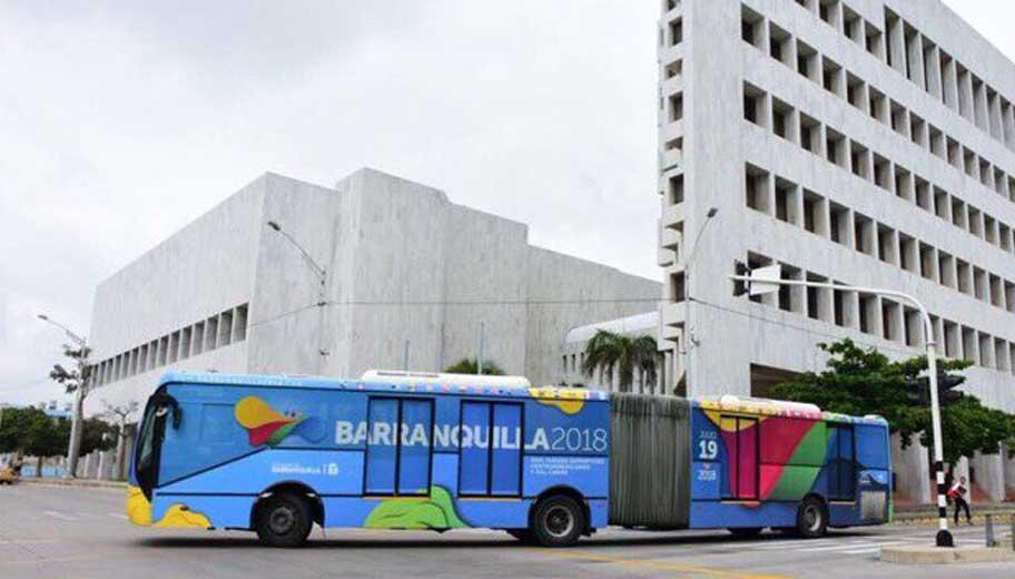 Juegos Centroamericanos y del Caribe 2018/ Barranquilla 2018 oficial