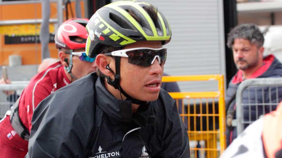 Esteban Chaves, ciclista colombiano del Mitchelton Scott en el Giro de Italia / Iraia Calvo