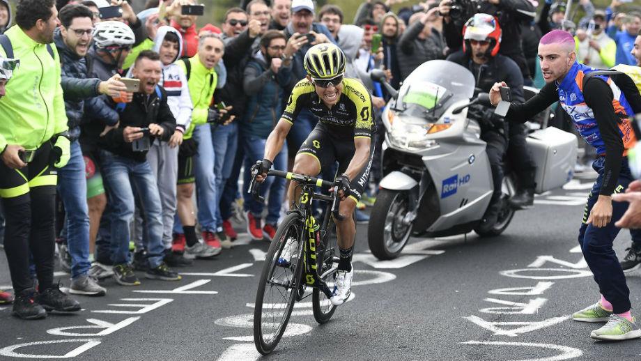 Esteban Chaves, el colombiano más destacado del Giro de Italia