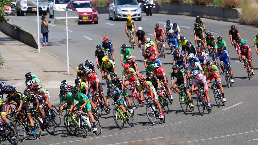 Equipos y ciclistas en la Vuelta a Colombia