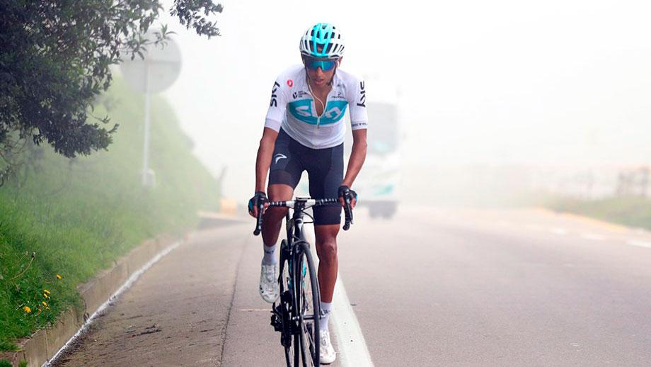 Egan Bernal, ciclista colombiano / Federación Colombiana de Ciclismo
