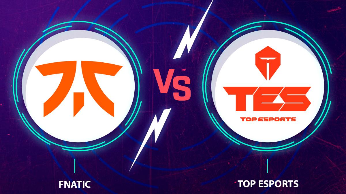 Mira en vivo y online Fnatic Vs. Top Esports en el Worlds 2020