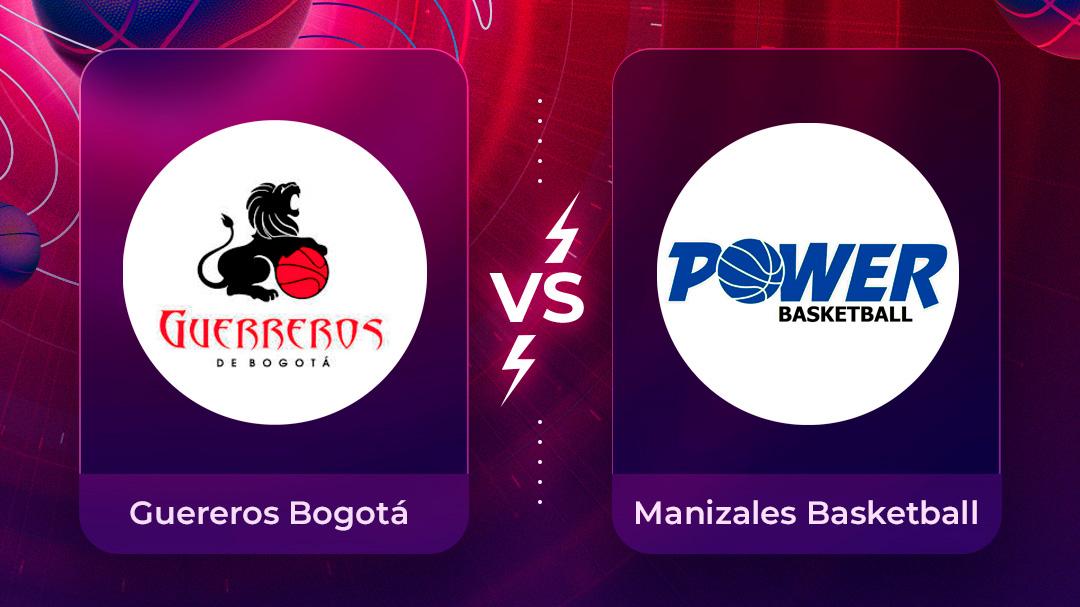 Mira en vivo el partido Guerreros Bogotá vs Manizales Basketball Club por la Liga Superior de Baloncesto Femenino 2020