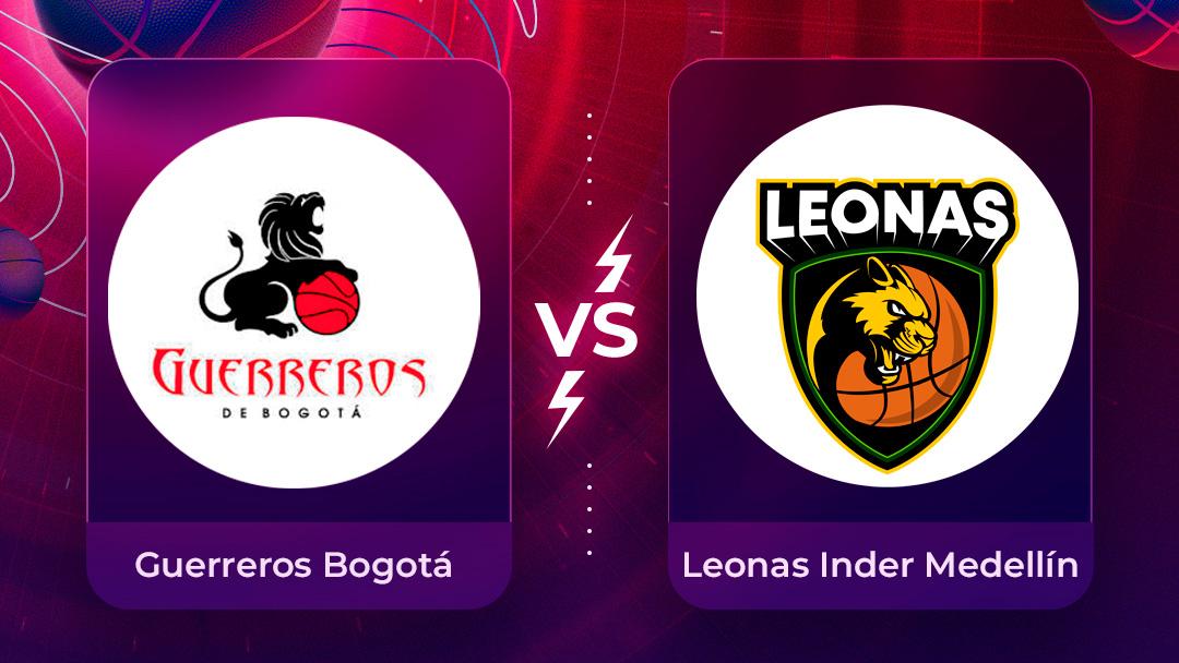 Mira en vivo el partido Guerreros Bogotá vs Leonas INDER Medellín por la Liga Superior de Baloncesto Femenino 2020