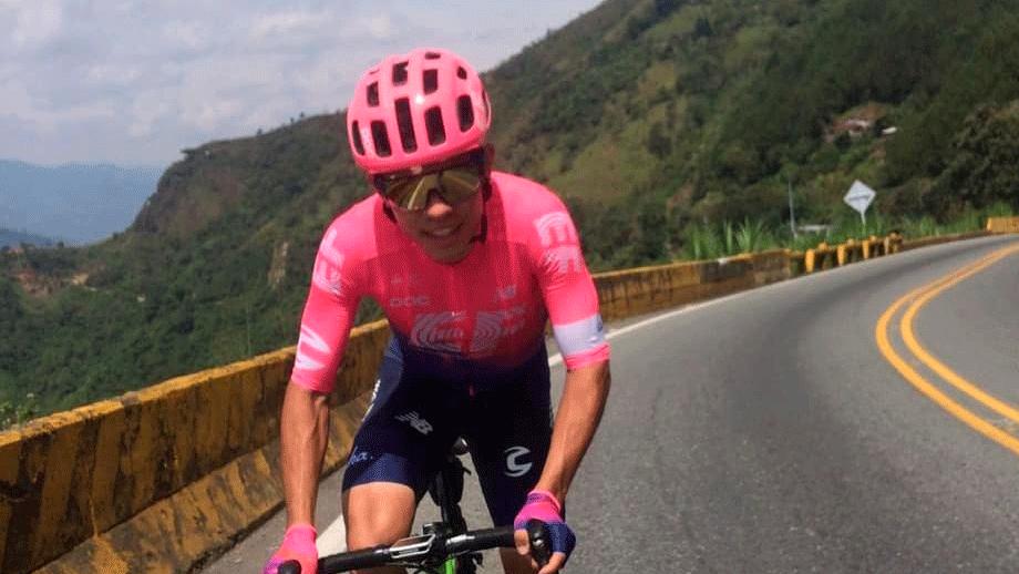 El ciclismo, la pasión desde niño de Sergio Higuita / Instagram Sergio Higuita