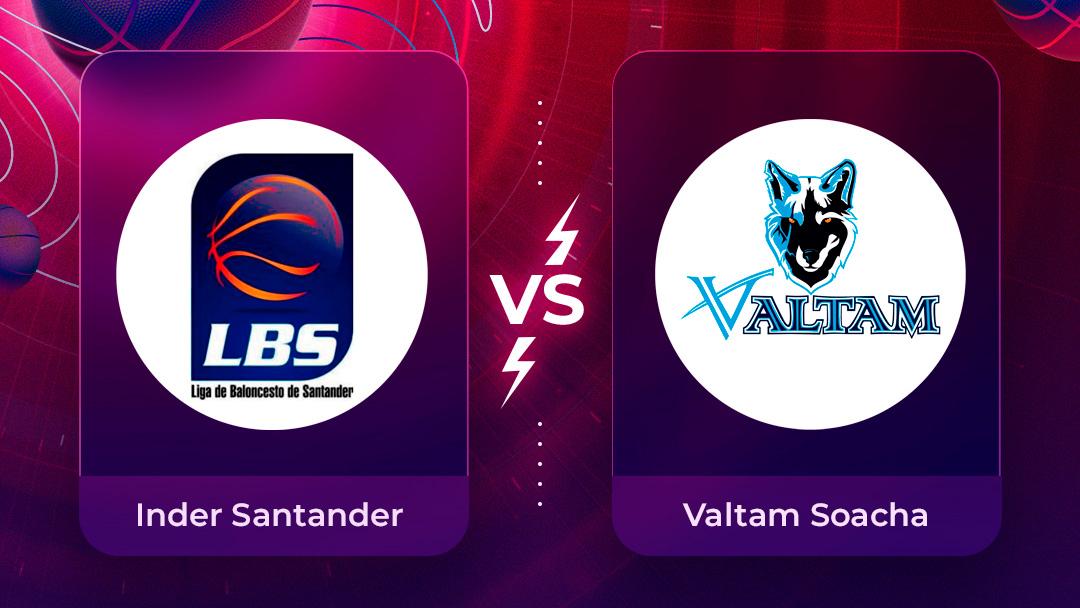 Mira en vivo el partido Inder Santander Vs Valtam Soacha  por la Liga Superior de Baloncesto Femenino 2020