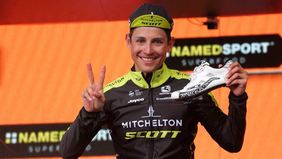 Esteban Chaves, ganador etapa 6 del Giro de Italia / Iraia Calvo