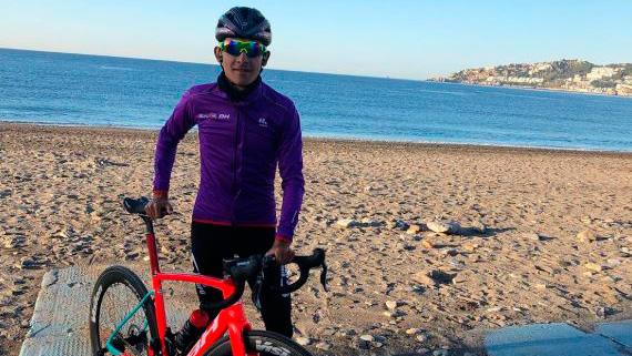 El originario de la Unión-Antioquia será el único colombiano presente en la Vuelta Andalucía 2020.