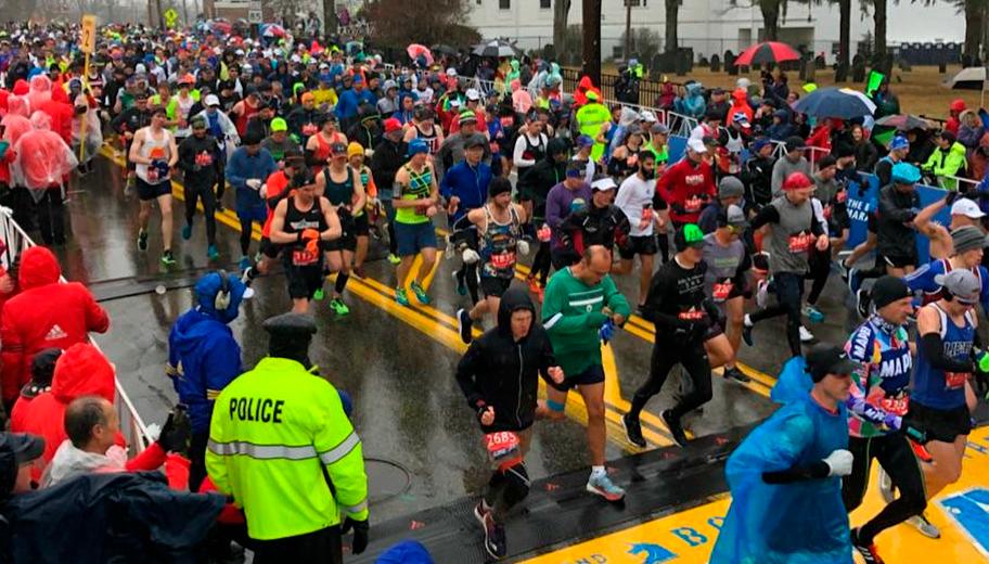 En el atletismo todos somos iguales / Maratón de Boston oficial