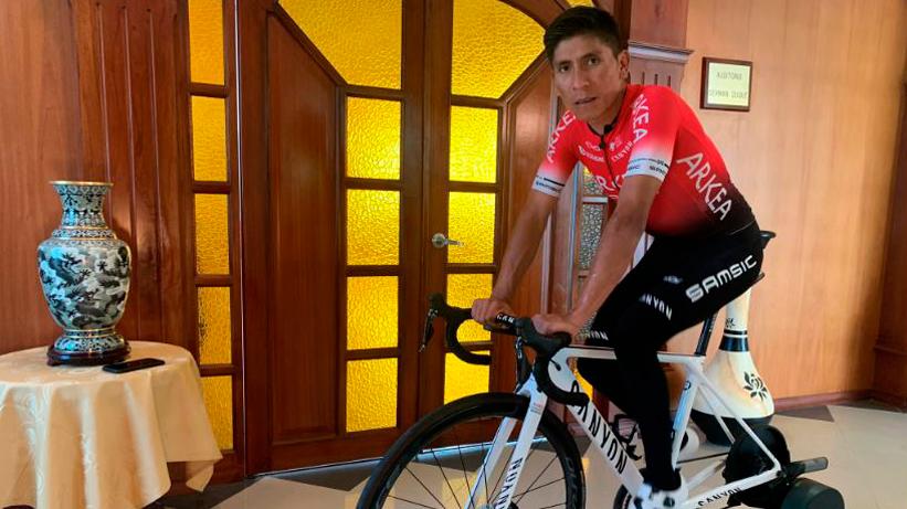 Nairo Quintana quiere ayudar en la lucha contra el COVID-19