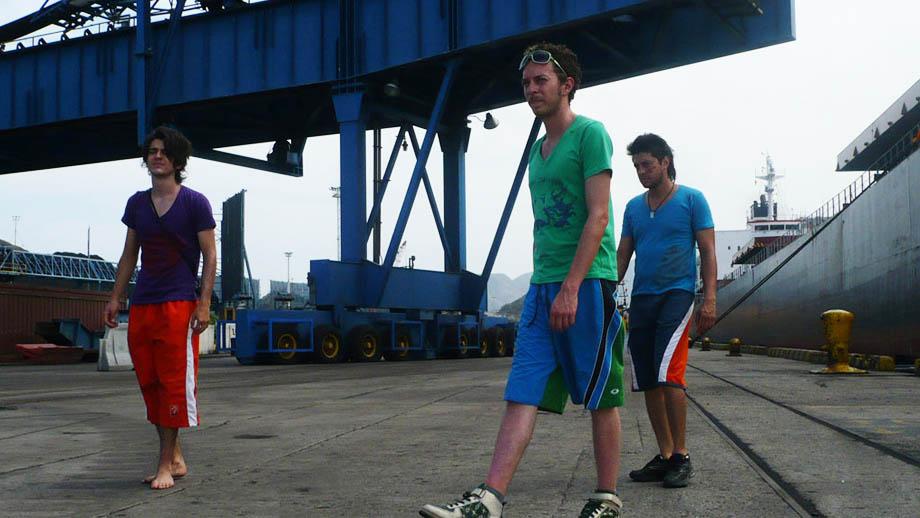 Fotograma de la película Apatía, una película de carretera
