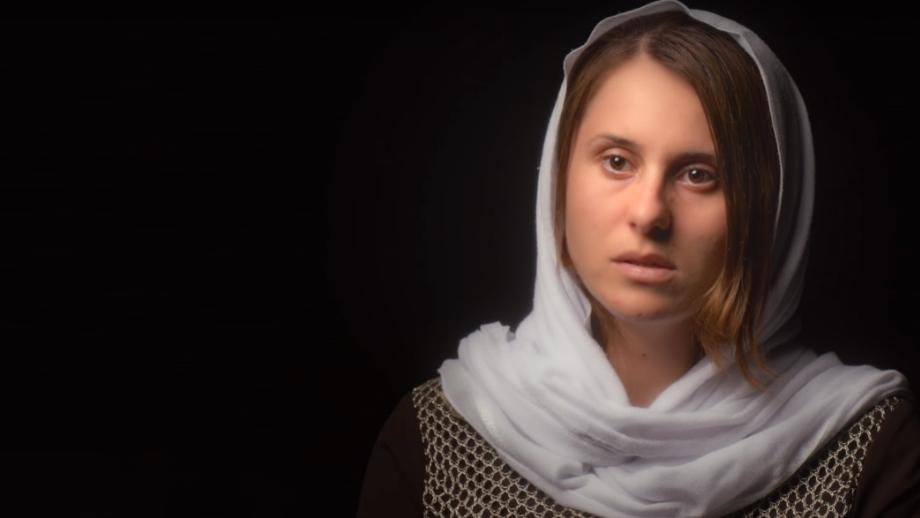 Fotograma del capítulo Esclavas Yazidíes, de la serie documental Why Slavery?