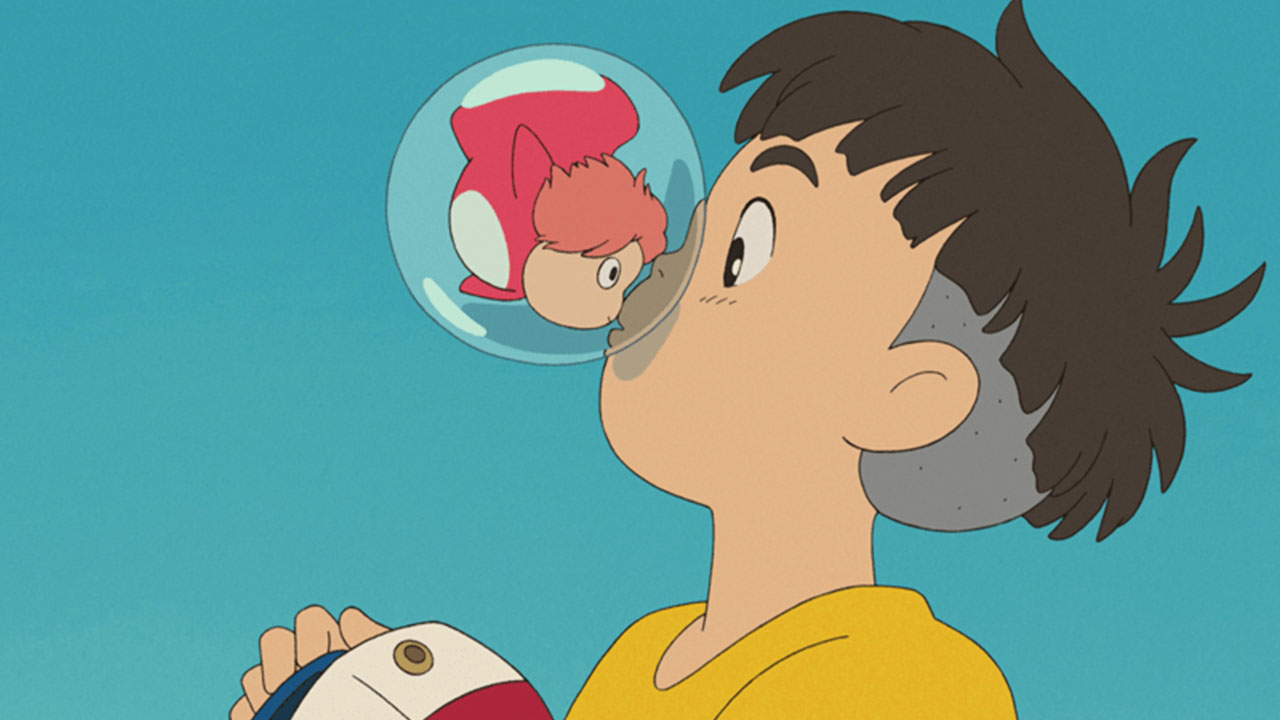 Sosuke, protagonista de la película Ponyo en el acantilado