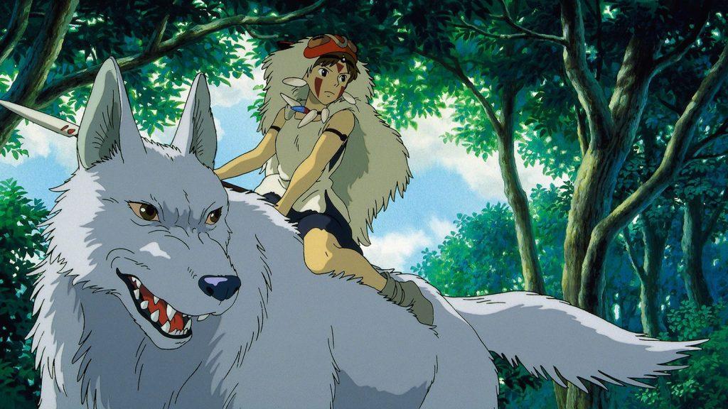 Imagen de la película 'La princesa Mononoke'.