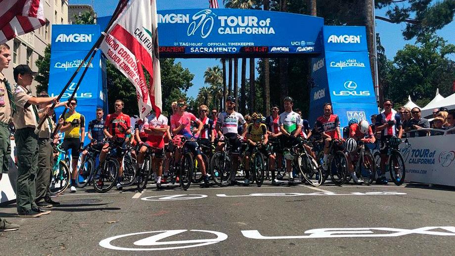 Sergio Higuita, el mejor colombiano en el inicio del Tour de California / Instagram Tour de California