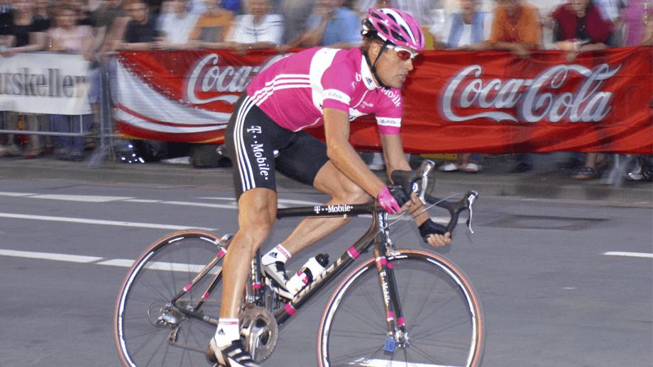 Jan Ullrich, exciclista sancionado por dopaje
