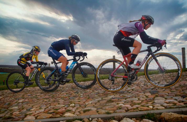 La altimetría y el recorrido de la París Roubaix femenina 2021
