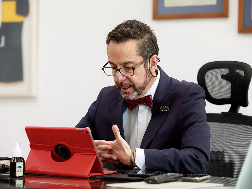 Álvaro García, gerente de RTVC