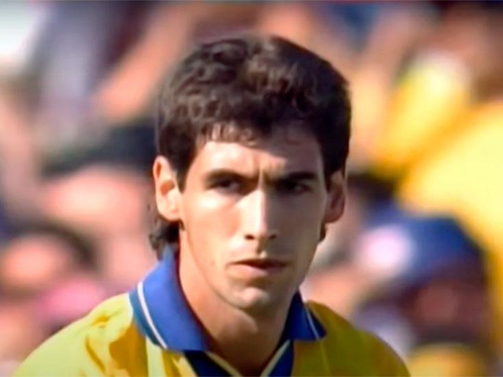 Imagen de Andrés Escobar justo después de meter el autogol en el Mundial de 1994.