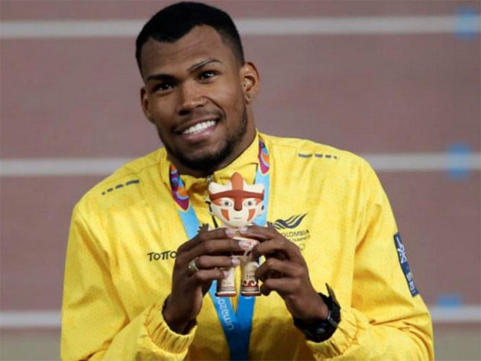Anthony Zambrano, clasificado a los Juegos Olímpicos Tokio 2021