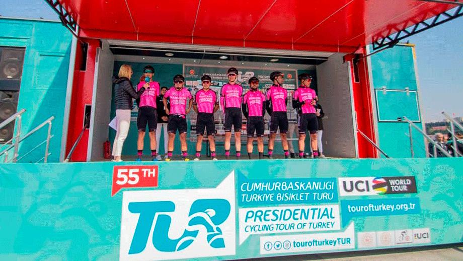 Manzana Postobón gana la clasificación por equipos del Tour de Turquía / Manzana Postobón oficial