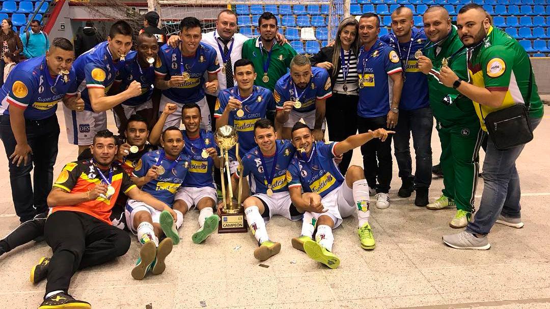 Equipos referentes de la Superliga de Microfútbol 2020