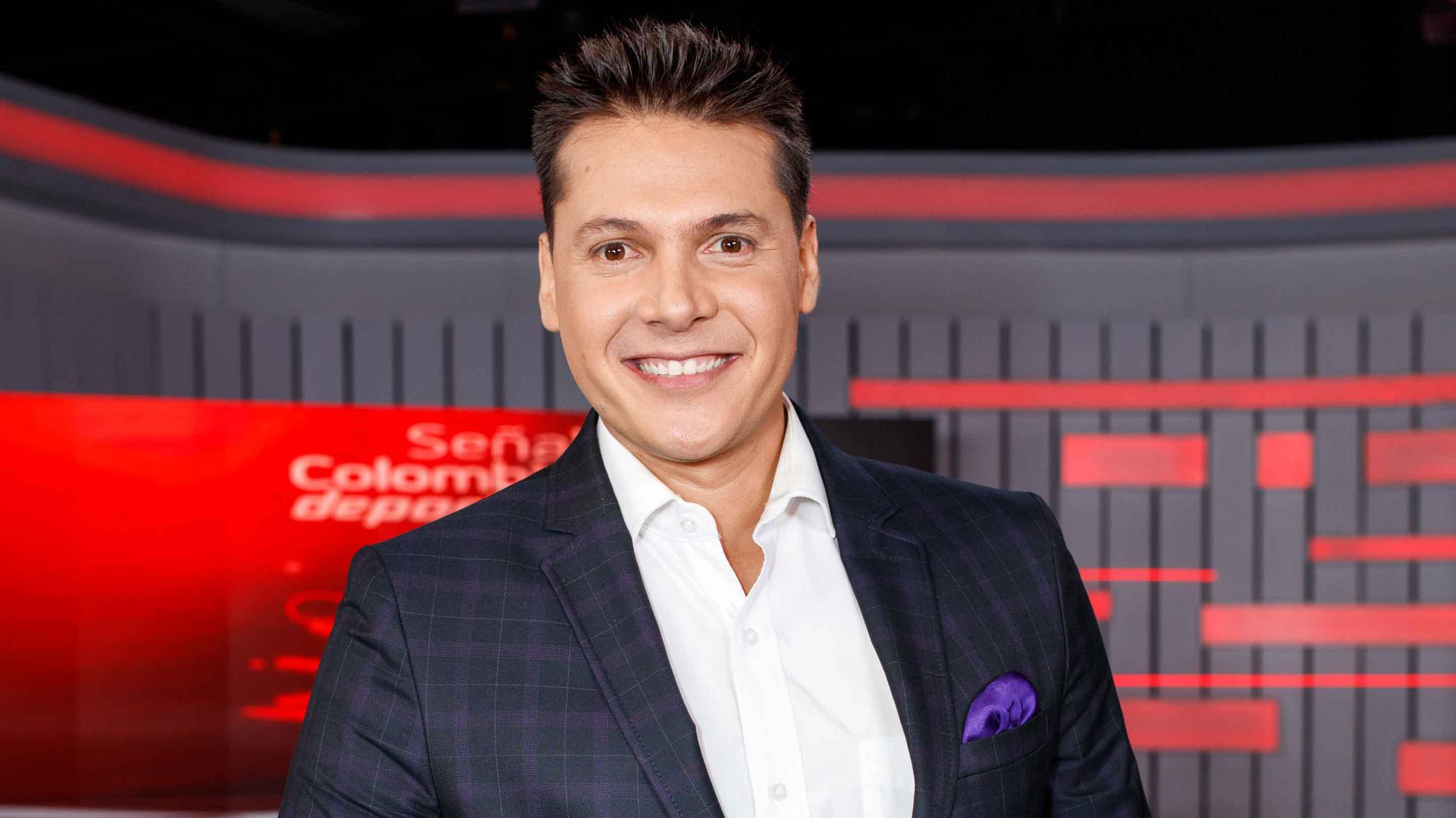 Camilo Pérez está preparado para la nueva temporada de nuestra franja
