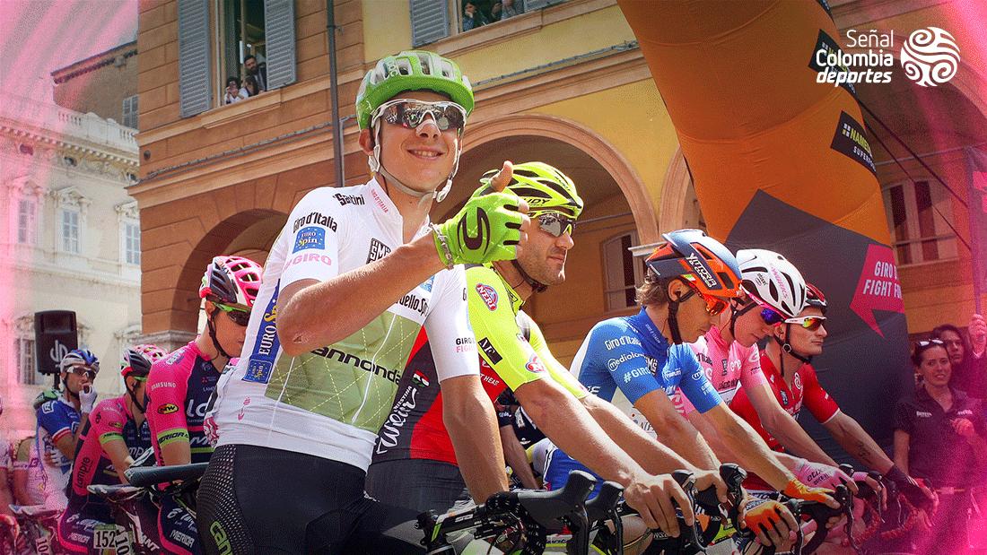 Las camisetas que portan los mejores en el Giro de Italia / Giro de Italia